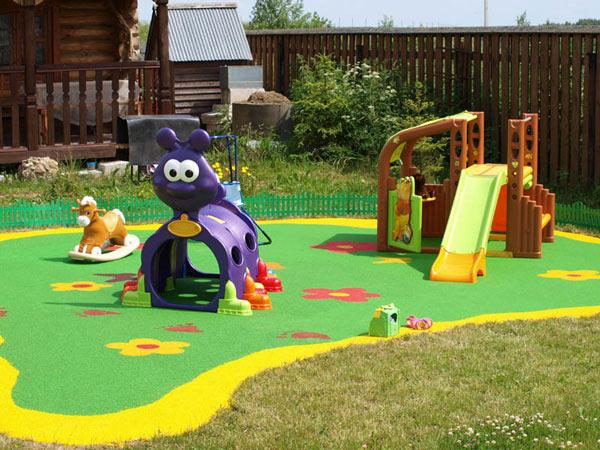 Строим детский уголок на даче