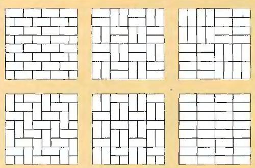 Рисунки укладка тротуарной плитки своими руками
