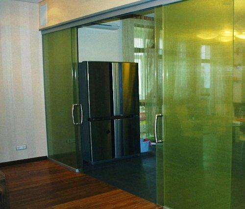стеклянные раздвижные системы