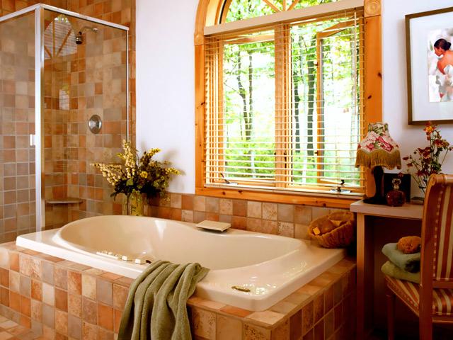 Комфорт на даче — санузел и ванная комната