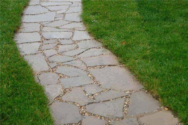 бетонные садовые дорожки