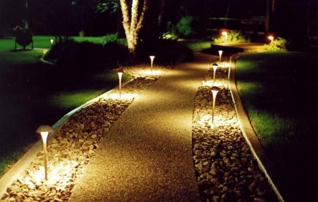 Декоративные светильники для уличного освещения дома