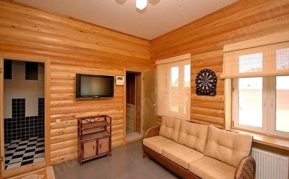 Внутренняя отделка дома блок-хаусом