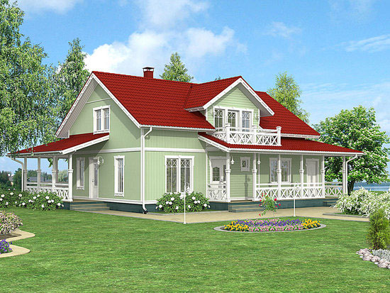 Какой загородный дом выбрать