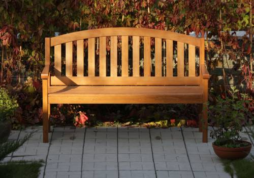деревянные скамейки на дачу
