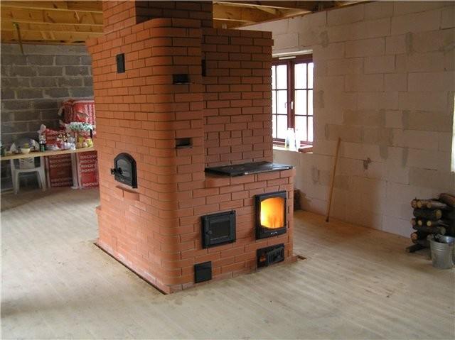 Печное отопление частного загородного дома