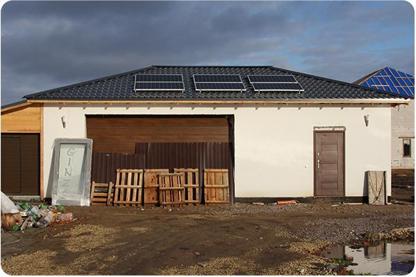 солнечные батареи для дома фото