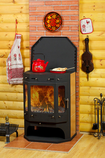 Печь-камин для дачи – оптимальный способ обогрева
