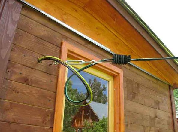 Как правильно провести электричество к даче