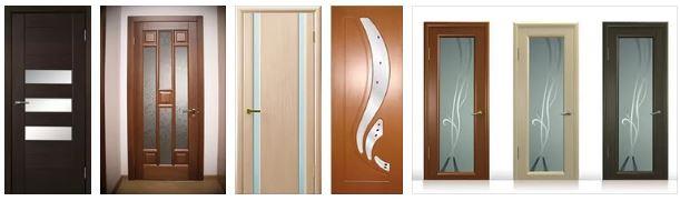 Межкомнатные двери со стеклянными вставками
