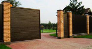 Откатные ворота: особенности, преимущества и монтаж