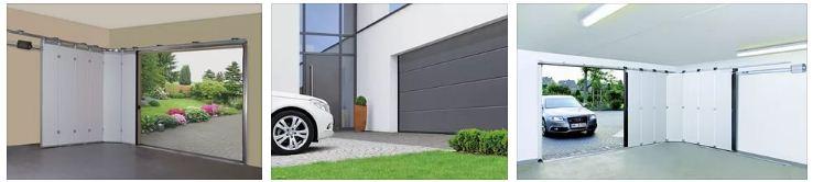 Секционные, рулонные и подъёмно-поворотные гаражные ворота