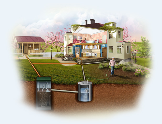 Канализационные сети в частном доме и на даче: как проводится их обслуживание и ремонт?