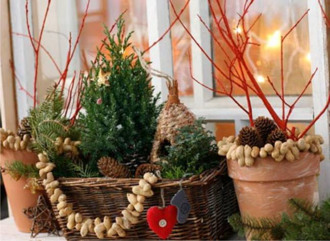 Новый год: украшаем дачу к празднику