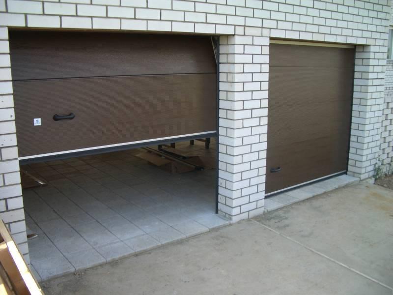 роллетные ворота для гаража с автоматическим приводом