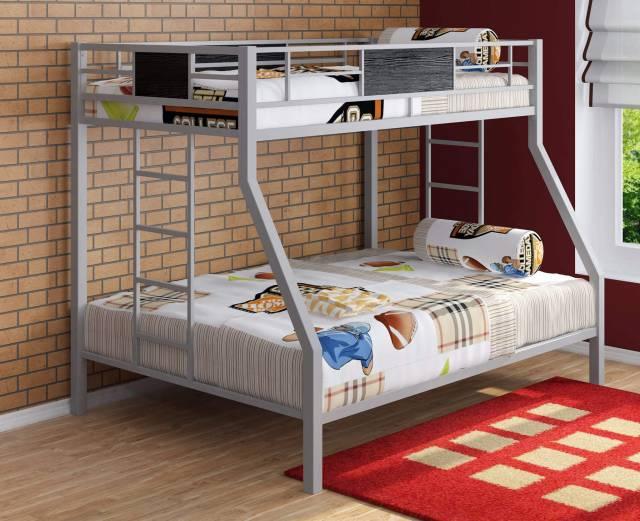 Двухъярусные металлические кровати для детей