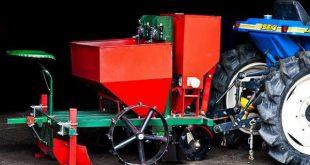 Как выбрать картофелесажалку для мини-трактора: основные моменты