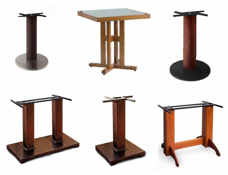 Подстолье для стола из дерева