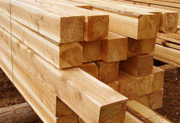 Использование в строительстве бруса 150х150х6000