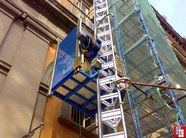 Использование шахтных подъемников в строительстве