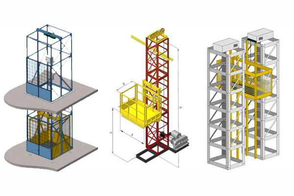 преимущества шахтных подъемников в строительстве