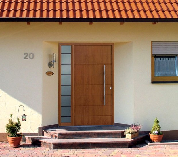 Металлическая входная дверь для дачи