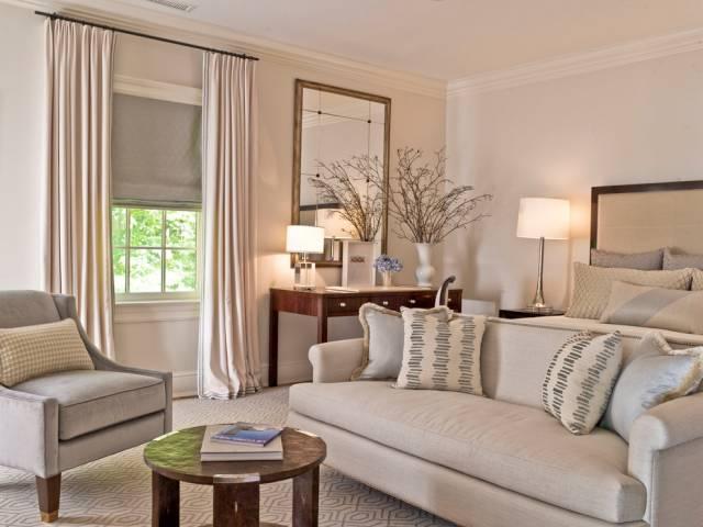 Выбор штор относительно размеров комнаты