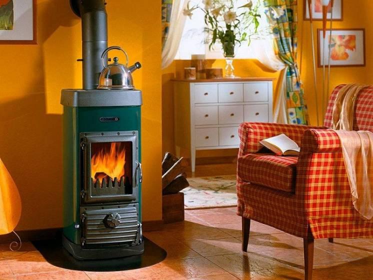 отопление дачи котлом на дровах
