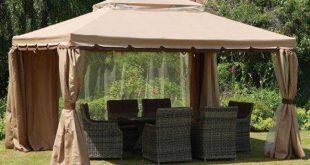 Шатер для дачи: комфортный отдых под надежной защитой
