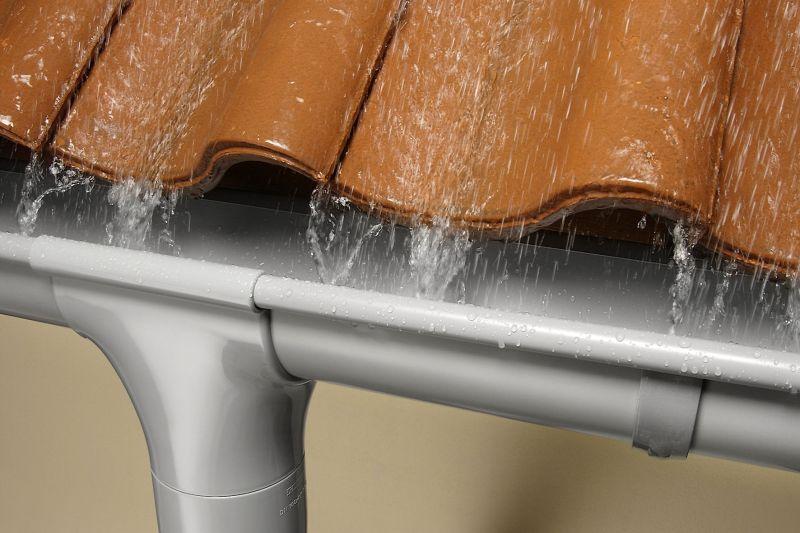 наружная водосточная система для частного дома