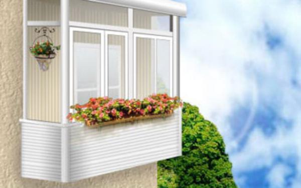 Пластиковые балконы: преимущества установки
