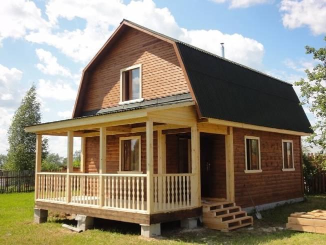 Особенности и преимущества дачных домов из бруса