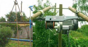 Строительные электрические лебедки: важные особенности оборудования