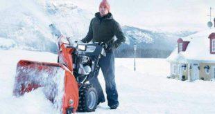 Бензиновые снегоуборщики: характеристики, определяющие выбор