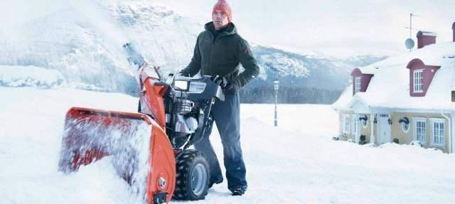 Бензиновые снегоуборщики: характеристики