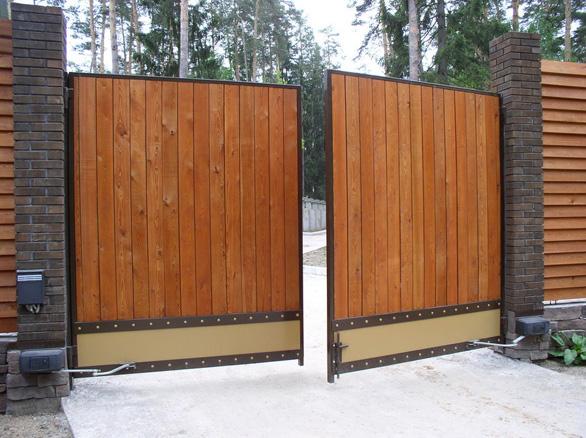 Ворота для дачи - советы по выбору