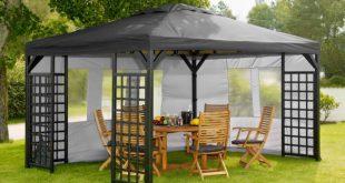 Тенты и шатры для дачи: их преимущества и разновидности