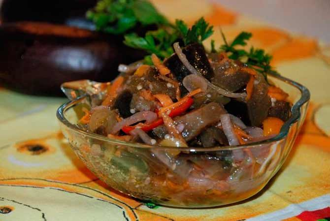 Популярные рецепты маринованных баклажан быстрого приготовления