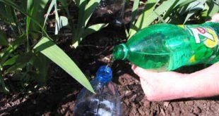 Три способа изготовления системы капельного полива из обычных пластиковых бутылок