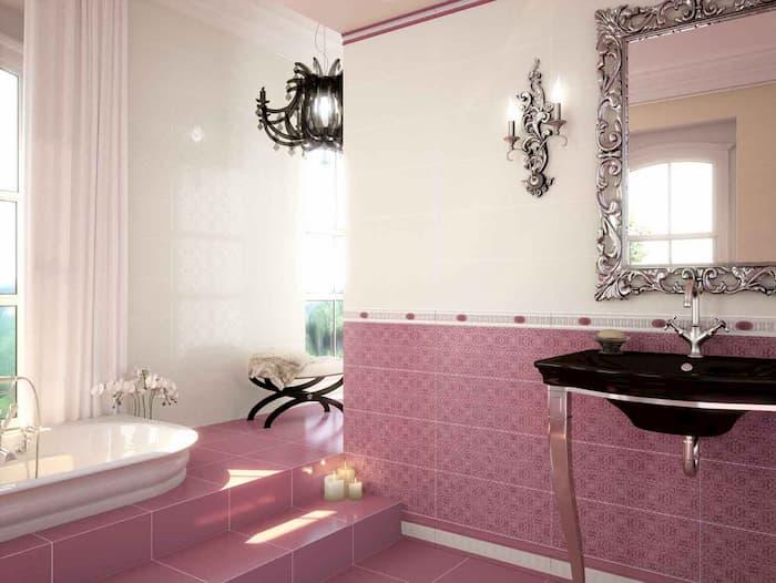 Как укладывать кафель в ванной комнате