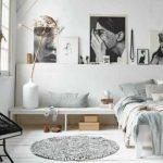 Оформление интерьера с элементами пряжи и скандинавском стиле