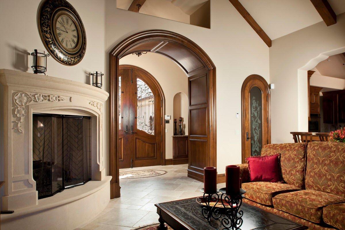 Как создать арку из дверного проема