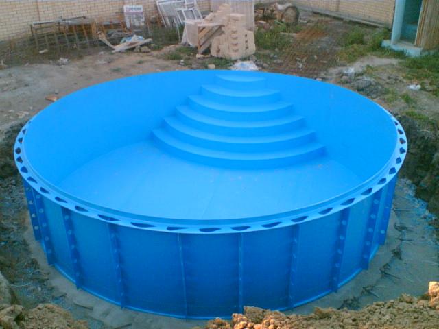 пластиковий басейн для дачі